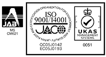 ISO9001,ISO14001認証取得